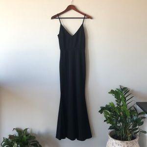 Lulu's Glory Black Maxi Dress